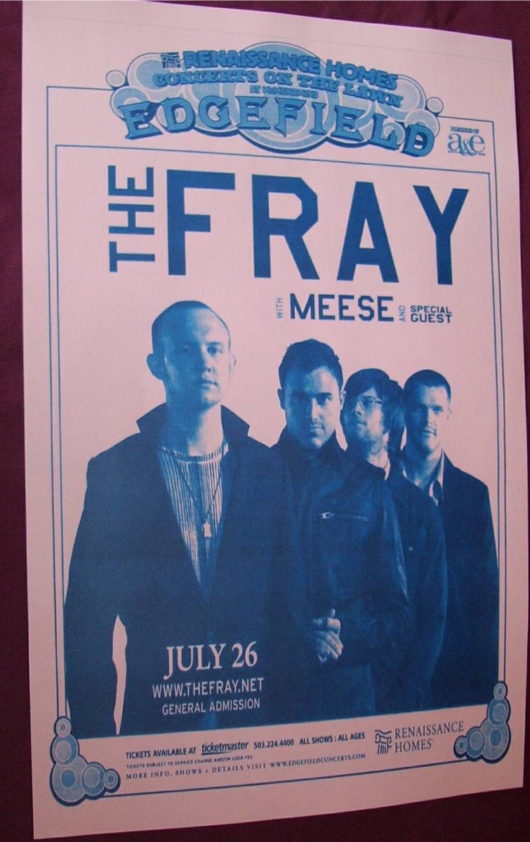 The Fray 2007 portland