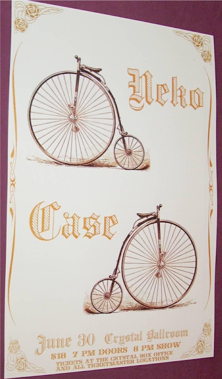 Neko Case Portland Poster